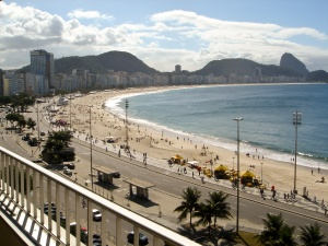 Rio de Janeiro - výhled z hotelu