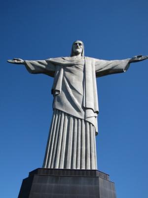 Rio de Janeiro -socha Krista